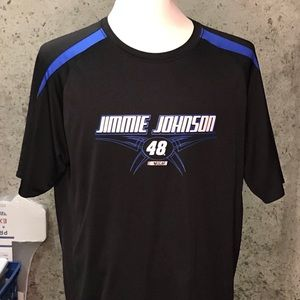 Jimmie Johnson #48 Nascar Polyester Shirt Sz XL